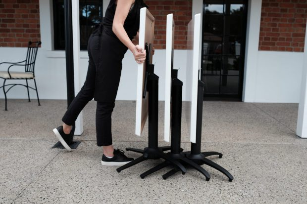 NOROCK Terrace Stacking and Nesting Table Bases