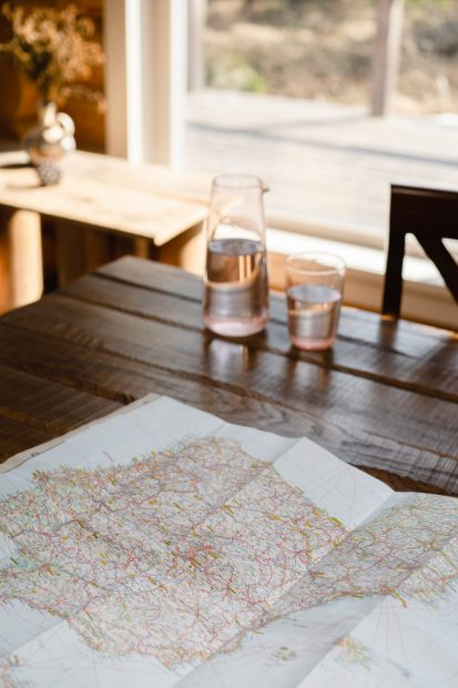 NOROCK launches internationally: picture of a map on a table